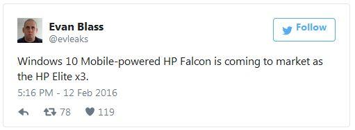 � ������������ HP Elite x3 ������ 1 �� ����������� ������