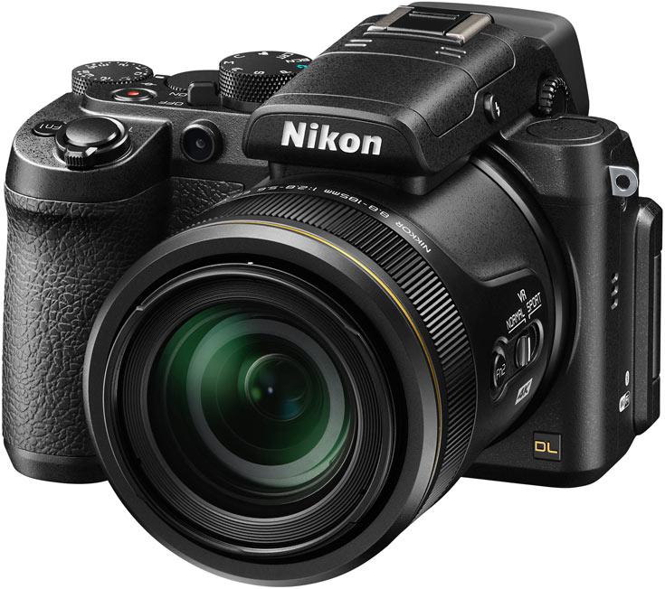 � ���������� ������� Nikon DL24-85, DL18-50 � DL24-500 ������������ �������� ������� �����������