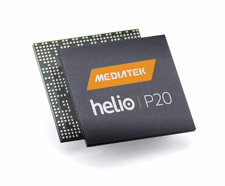 ��������������� ������� MediaTek helio P20 ���������� �� ������ �� 16-������������ ���������� FinFET+