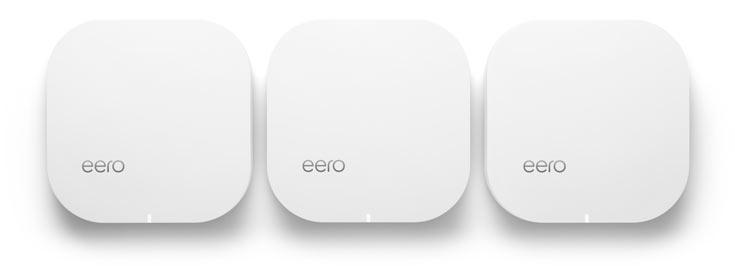 Цена одного eero — $199, комплекта из трех штук — $499