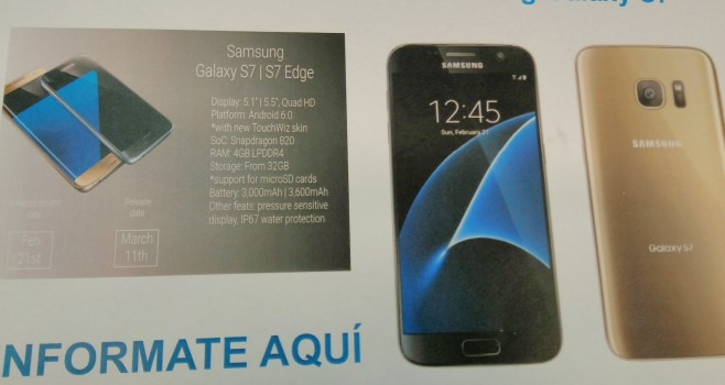 ������������ ��������� ��������������, ���� � ���� ������ ���������� Samsung Galaxy S7 � S7 edge