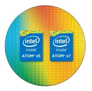 Intel ����������� CPU Atom x5-Z8550 � Atom x7-Z8750