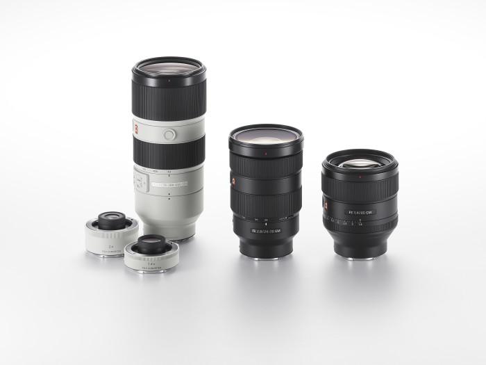 Sony открывает линейку объективов G Master моделями FE 24-70mm F2.8 GM, FE 85mm F1.4 GM и FE 70-200mm F2.8 GM OSS