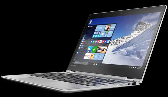 Мобильные ПК Lenovo Yoga 710 выделяются толщиной всего 14,7 мм