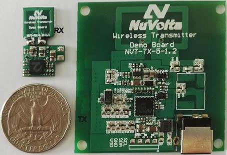 В системах беспроводного питания NuVolta используется фирменный контроллер NUT1000
