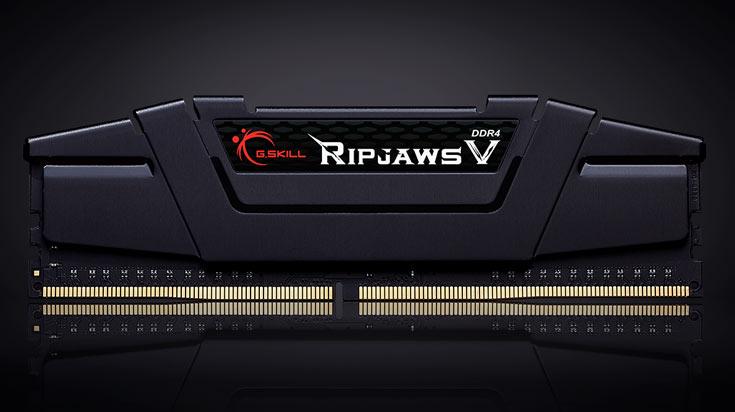 Набор из восьми модулей памяти DDR4-3200 суммарным объемом 128 ГБ пополнил серию Ripjaws V