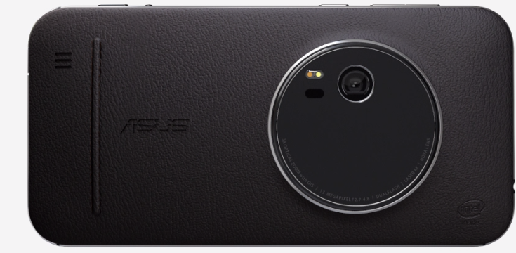 Asus обтянула заднюю крышку смартфона Zenfone Zoom кожей