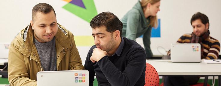 Ноутбуки для беженцев