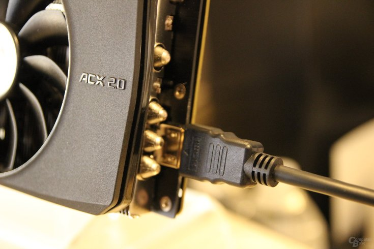 ���������� EVGA GeForce GTX 980 Ti VR Edition ����������� ���������� ������ HDMI