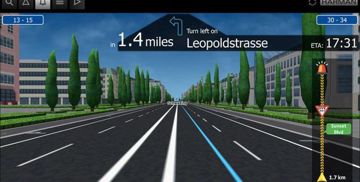 Помимо данных картографического сервиса, водитель получит информацию от сети датчиков