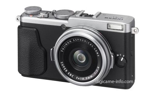 Появились первые изображения и спецификации камеры Fujifilm X70