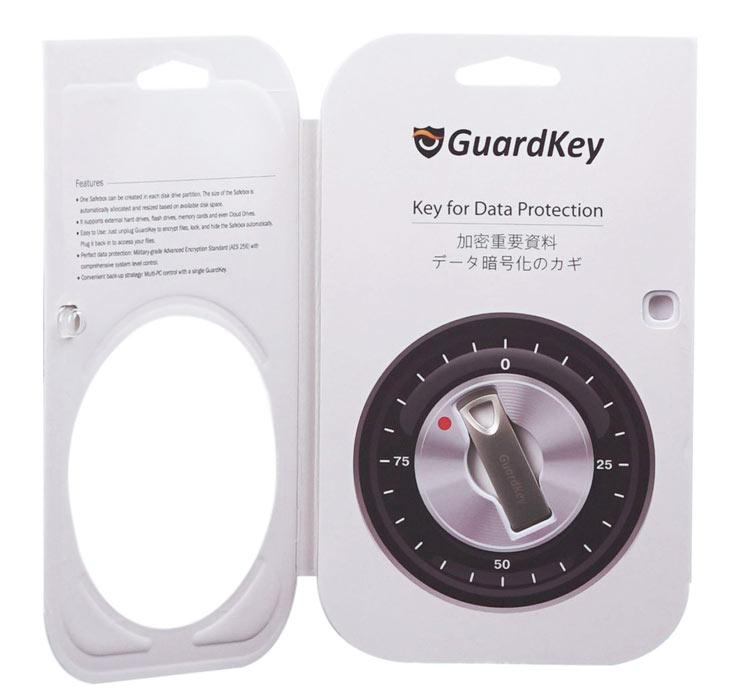 GuardKey можно использовать совместно с парольной защитой для двухфакторной аутентификации