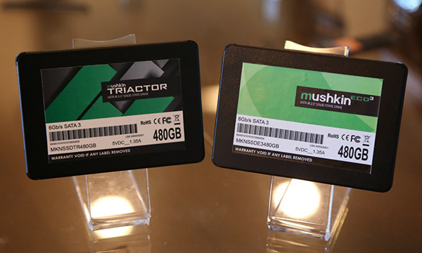 Mushkin Triactor — SSD типоразмера 2,5 дюйма на базе контроллера Silicon Motion SM2256