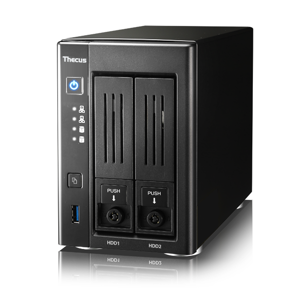 NAS Thecus N2810 стоит $320