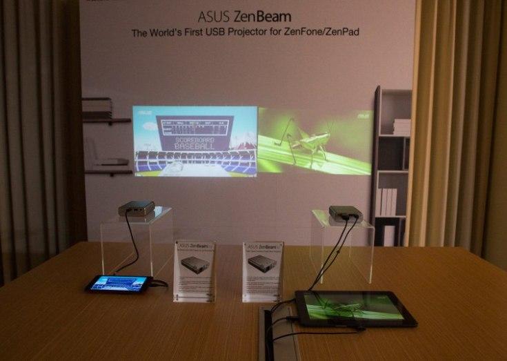 Проекторы Asus ZenBeam E1Z и ZenBeam E1 выводят изображение разрешением 854 х 480 пикселей