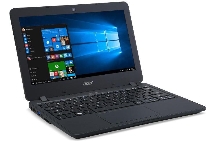 Ноутбук Acer TravelMate B117 ориентирован на учебные заведения