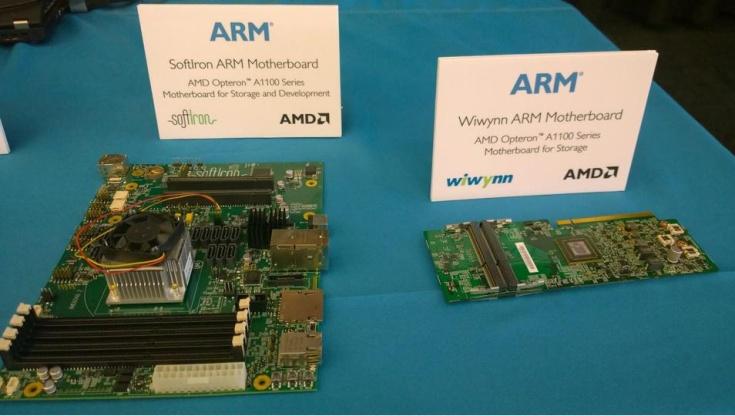 Процессоры AMD Opteron A1100 стали доступны