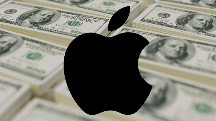 Прибыль Apple за первый квартал 2016 финансового года составила 18,4 млрд долларов