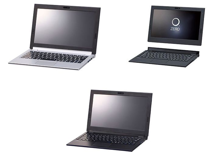Гибридный ноутбук Nec LaVie Hybrid Zero весит менее 1 кг