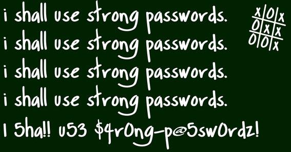 Самые популярные (плохие) пароли 2015 года