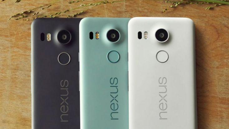 �������� Nexus 5X ������� ���������