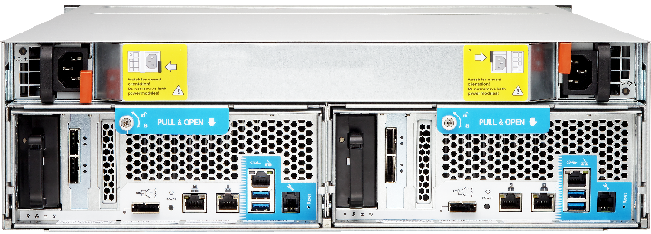 NAS QNAP ES1640dc может расширять объем всего комплекста хранения данных до 1 ПБ