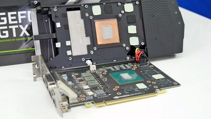 Появились фото печатной платы карты GeForce GTX 1060