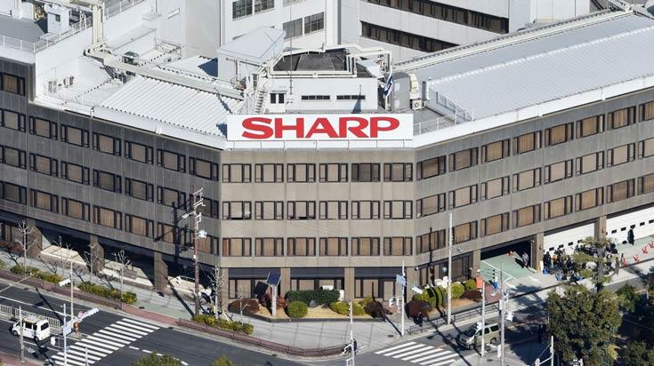Компания Sharp отчиталась за финансовый год, завершившийся у нее 31 марта