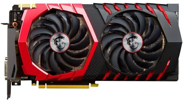 Видеокарта MSI GeForce GTX 1080 Gaming Z