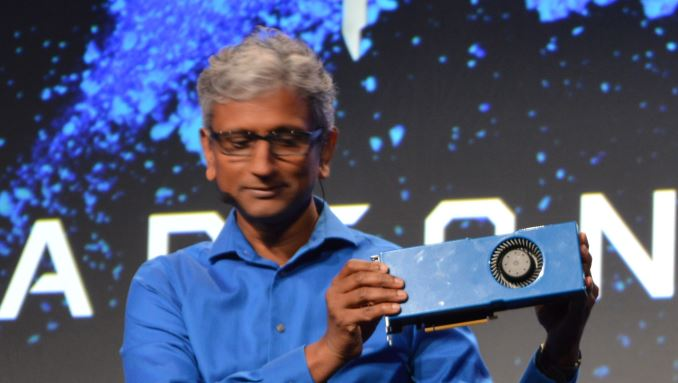 AMD представила видеокарту, ккоторой можно подключать SSD