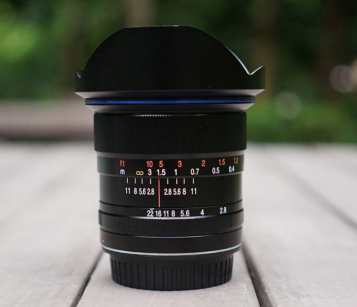 Сбор средств на выпуск объектива Laowa 12mm F/2,8 Zero-D стартовал успешно