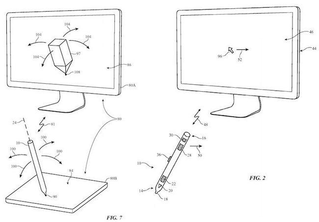 Новый стилус Apple Pencil, оснащенный набором сенсоров, сможет использоваться в роли джойстика в играх