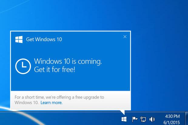 Возможность бесплатного обновления до Windows 10 исчезнет на этой неделе