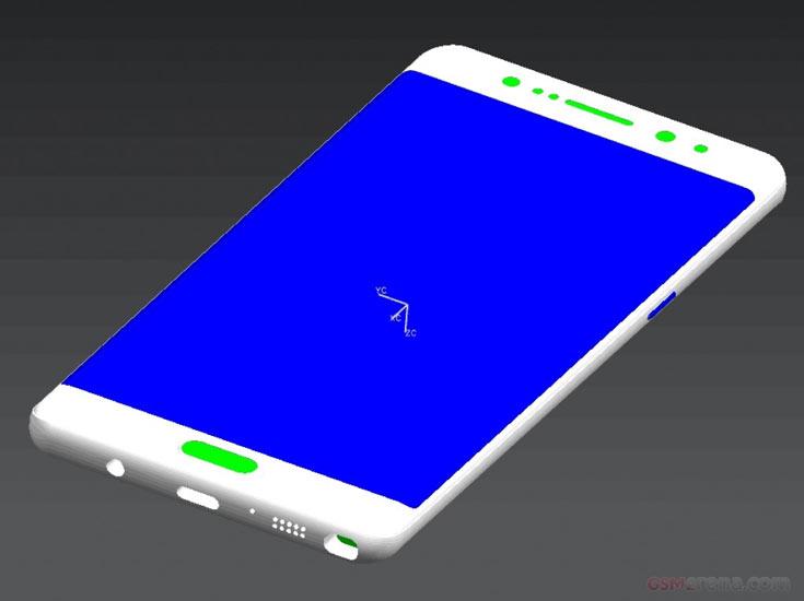 Утечка официальных снимков Самсунг  Galaxy Note 7