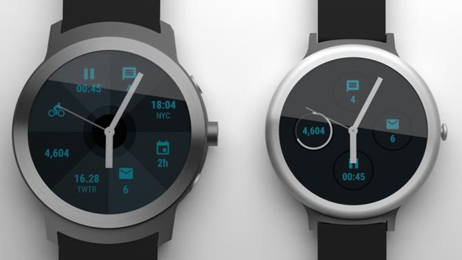 Google очевидно работает над смарт-часами Nexus