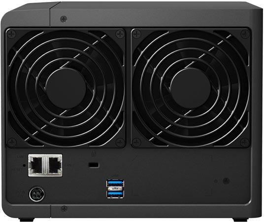 Хранилище с сетевым подключением Synology DiskStation DS416play рассчитано на четыре накопителя