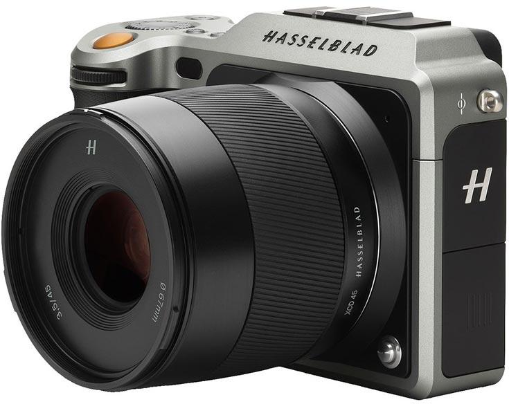 Обновление прошивки камеры Hasselblad X1D-50C добавляет совместимость с тремя моделями объективов