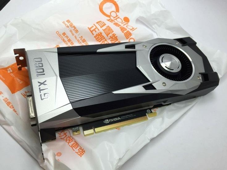 ����� GeForce GTX 1060 ����������� �� ������ ����
