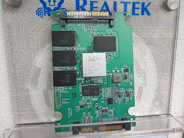 SSD типоразмера 2,5 дюйма с интерфейсом SATA 6 Гбит/с на базе контроллера Realtek RTS5761