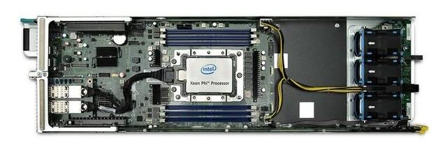 Процессоры Xeon Phi Knights Landing могут содержать до 72 ядер