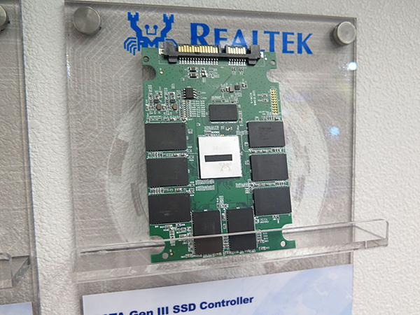 Контроллер Realtek RTS5731 рассчитан на использование в SSD с интерфейсом SATA 6 Гбит/с