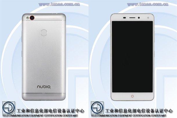 Смартфон ZTE Nubia NX541J получил SoC Helio P10