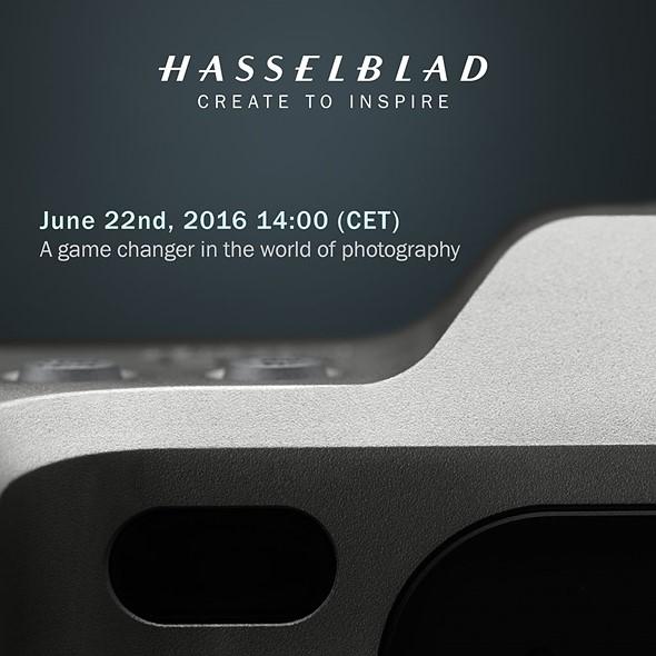 На следующей неделе Hasselblad представит беззеркальную камеру среднего формата