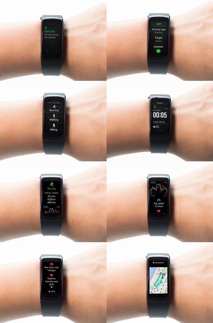 Фитнес-браслет Samsung Gear Fit 2 поступит в продажу 10 июня по цене $180