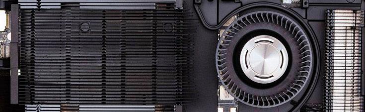 Вентилятор 3D-карты Nvidia GeForce GTX 1080 Founders Edition живет собственной жизнью