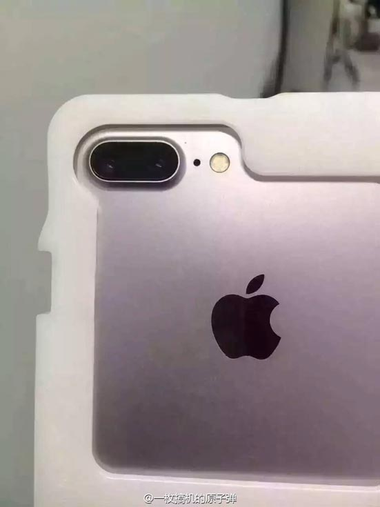 Модель Apple iPhone 7 Pro получит сдвоенную основную камеру