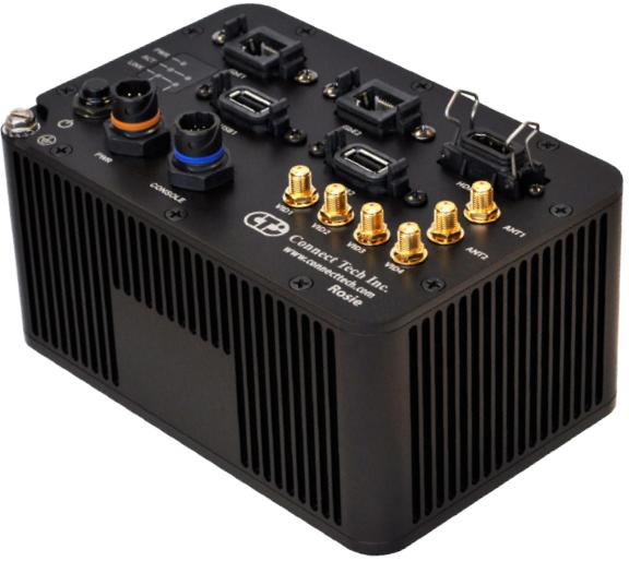 Система Connect Tech ESG501 выдерживает воздействие пыли и влаги в течение длительного времени