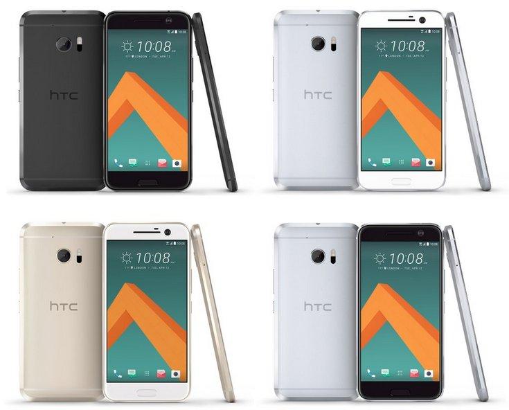 Смартфон HTC 10 не получит панель AMOLED