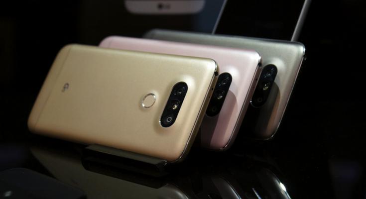 31марта стартуют продажи телефона LGG5