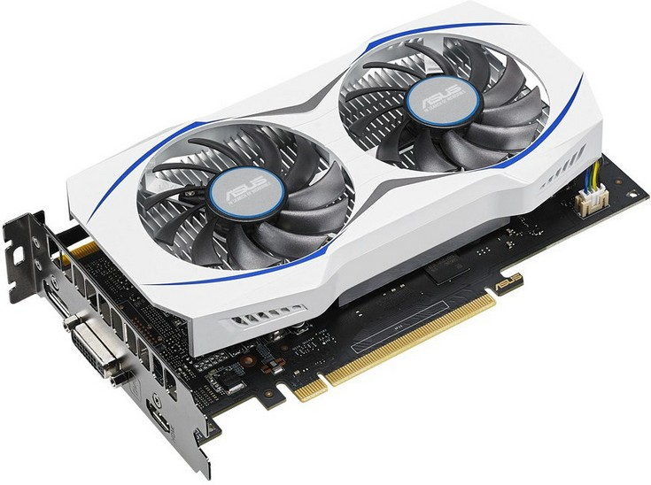 Видеокарта Asus GeForce GTX 950 (GTX950-2G) получила скромный охладитель